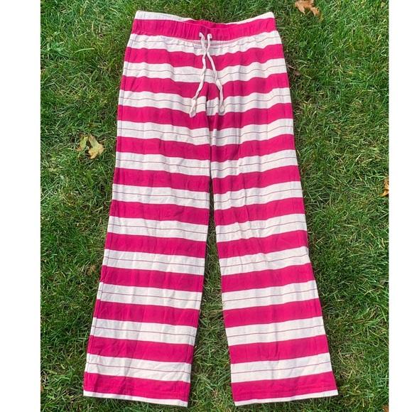 cbe167de94b3a Xhilaration Intimates & Sleepwear | Pajama Pants Red Cream Stripe ...